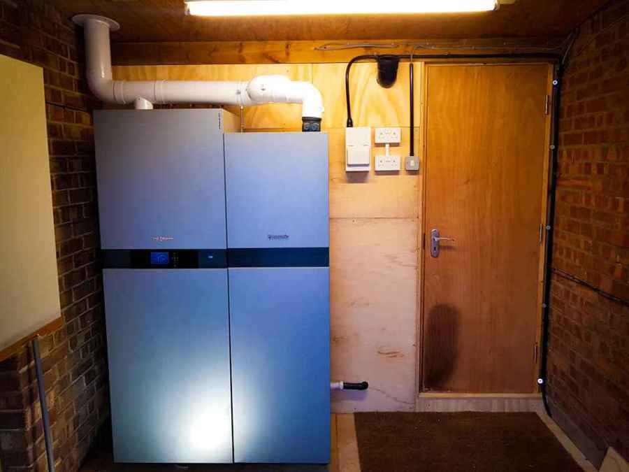 Hydrogen Fuel Cell in your home! Vitovalor 300P price and how much