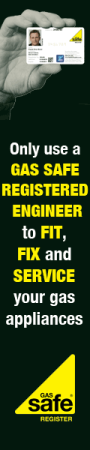 Only use Gas Safe engineers to repair your boiler